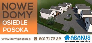Nowe domy osiedle Posoka