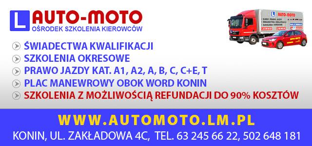 AUTO-MOTO, prawo jazdy, świadectwa kwalifikacji