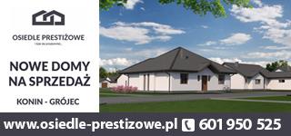 Osiedle prestiżowe - Konin - Grójec - nowe domy na sprzedaż