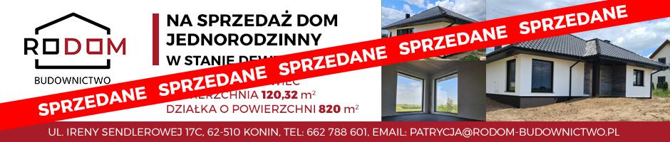 RODOM - na sprzedaż dom jednorodzinny w stanie deweloperskim